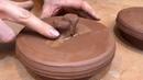 🍯 5 хватков для крышки Обучение гончарству Волшебство керамики