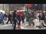На съёмках «Человека-паука: Вдали от дома» (Новый костюм)