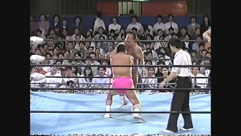 1994.05.31 - Haruka Eigen/Mighty Inoue vs. Mitsuo Momota/Rusher Kimura [JIP]