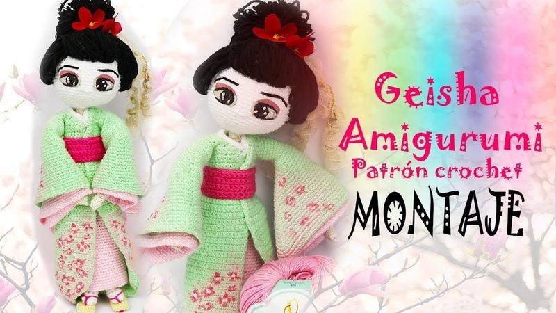 Amigurumi Geisha (parte 5/5)