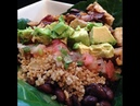 Рецепт чистого питания - Мексиканский буррито в тарелке - Полезный тако. Healthy Burrito Bowl - HASfit Healthy Mexican Recipes - Healthy Taco Salad - Clean Eating