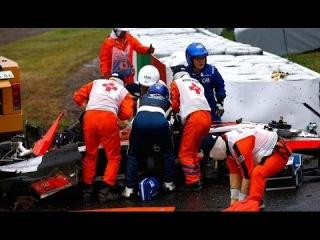 Japanese Grand Prix: Jules Bianchi Taken To Hospital After Crashing Into Tractor!!!
