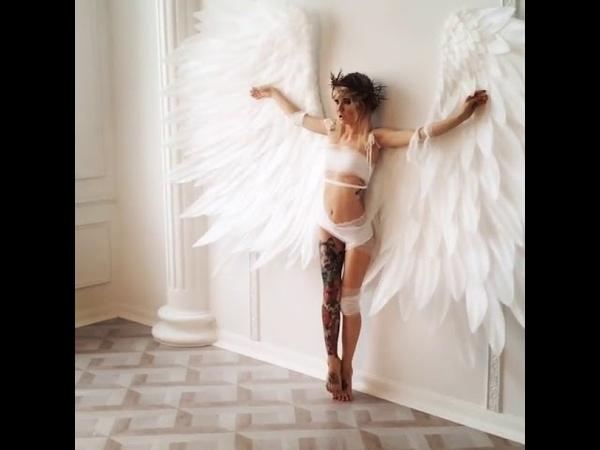 Мастер в своём творении. Крылья ангела ЛисьяМастерская