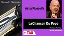 La Chanson Du Popo Harmonica TAB Михаил Гапак Hohner CX12 Jazz