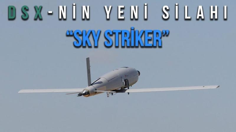 "DSX-nə yeni silah ""SKY STRİKER"" kamikadze PUA"