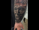 Tattoo by Yury Timko, first session!