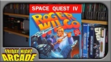 Space Quest IV Roger Wilco &amp the Time Rippers - MS-DOS Game Review Friday Night Arcade