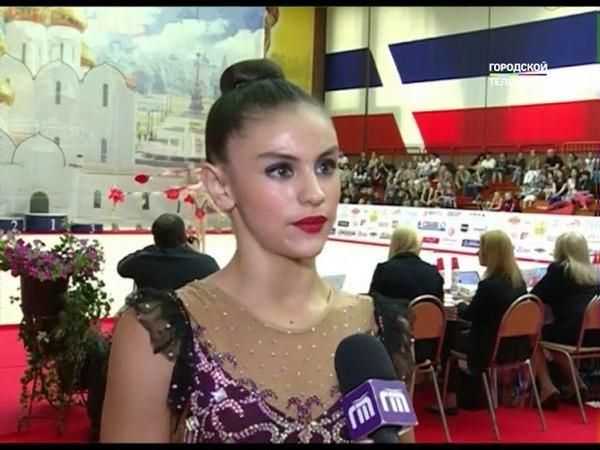 В Ярославле соревнуются гимнастки со всего мира