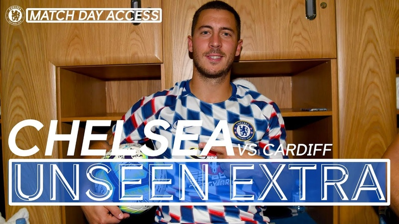 Tunnel Access Hat-Trick Hero Hazard Helps Chelsea Win 4-1 Vs Cardiff | Chelsea Unseen Extra