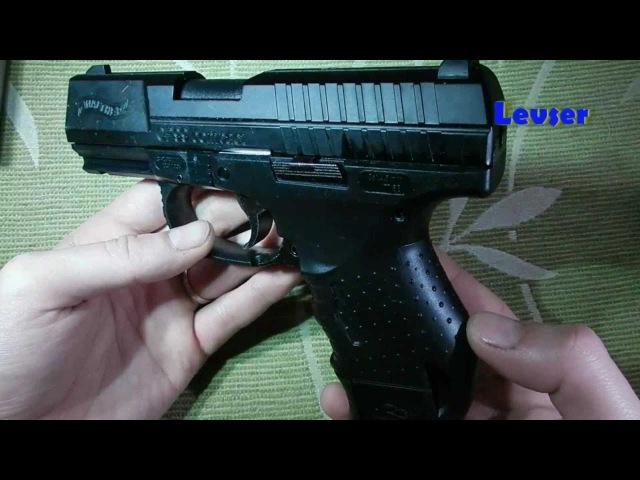 Пневматический пистоет Walther CP99 Compact