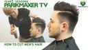 Мужская стрижка в стиле сайкобилли Men's Hair Styles With Side Parting. парикмахер тв