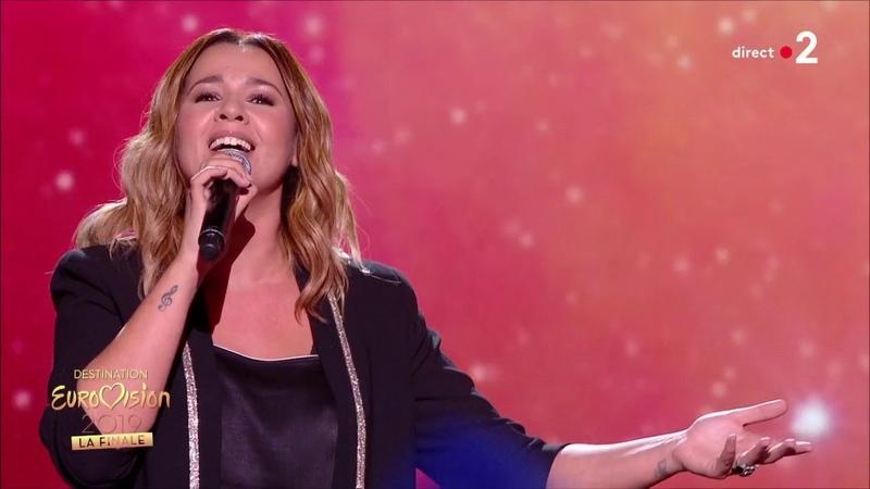 Chimène Badi Ne partez pas sans moi Céline Dion Finale Destination Eurovision 2019