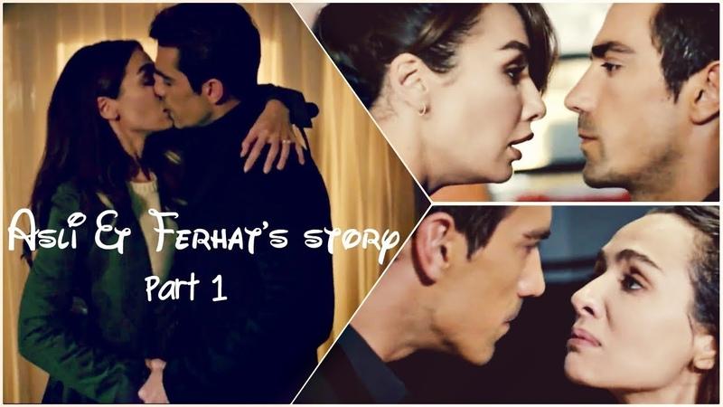 Aslı Ferhats Story Part 1 || Love the way you lie [ArabicEnglish Subtitles]