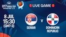 LIVE 🔴 - Serbia v Dominican Republic - Class 9-10 - FIBA U17 Basketball World Cup 2018