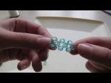 Бисероплетение для начинающих урок №1  Плетем крестиком