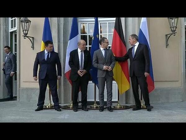 Нормандская четверка провела переговоры в Германии