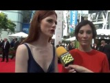 Game of Thrones Rose Leslie & Sibel Kekilli @ the 66th Annual Primetime Emmy Awards