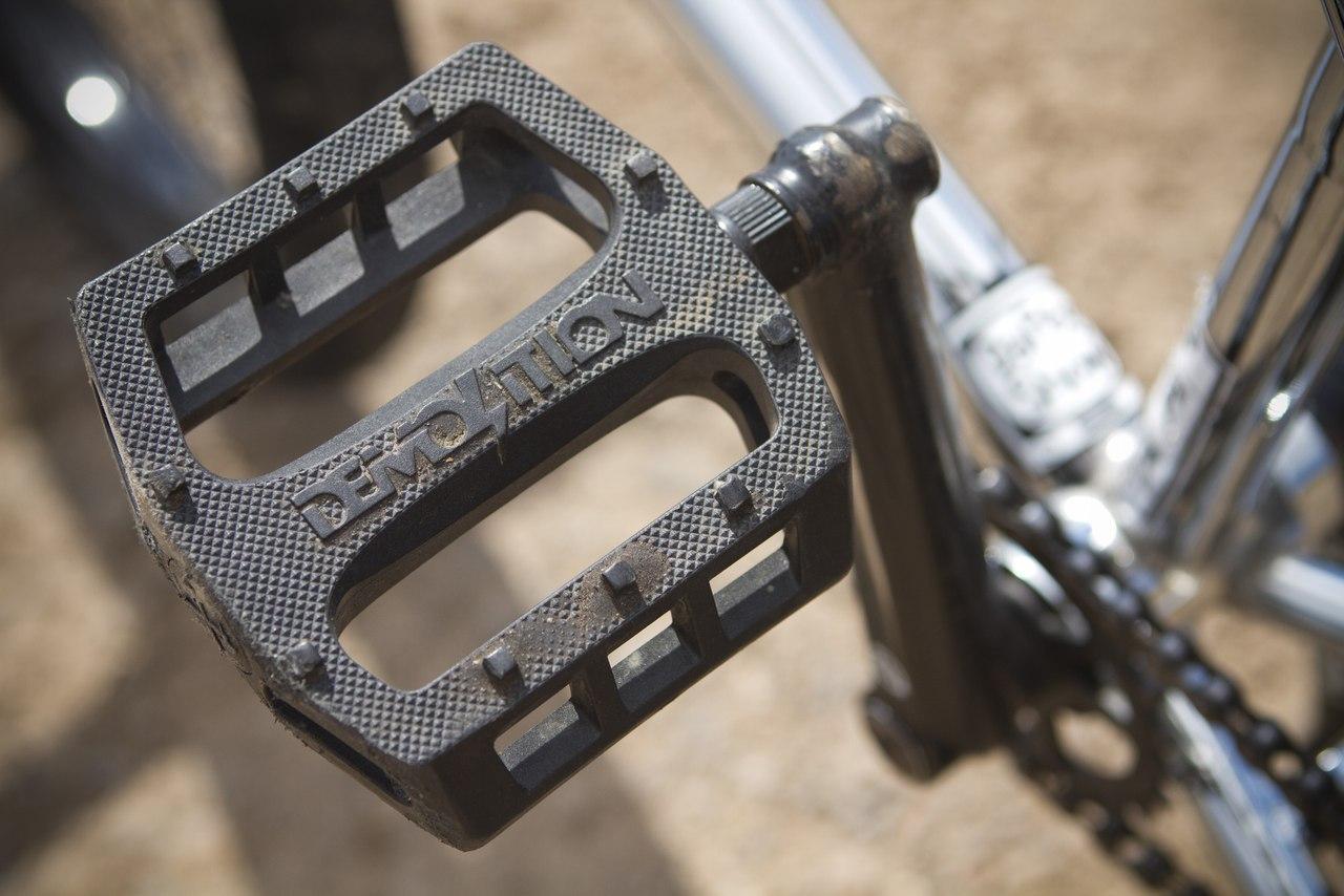 Jason Enns bikecheck demolition pedals