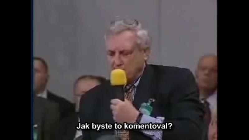 Proslulý projev Putina na konferenci v Mnichově 2004