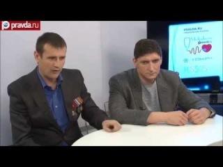 Морпех Отраковский Иван на Правда.ру по Украине часть 1