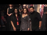 STUNNING Nushrat Bharucha Walks The Ramp At Lakme Fashion Week 2018 _ Nushrat Bh