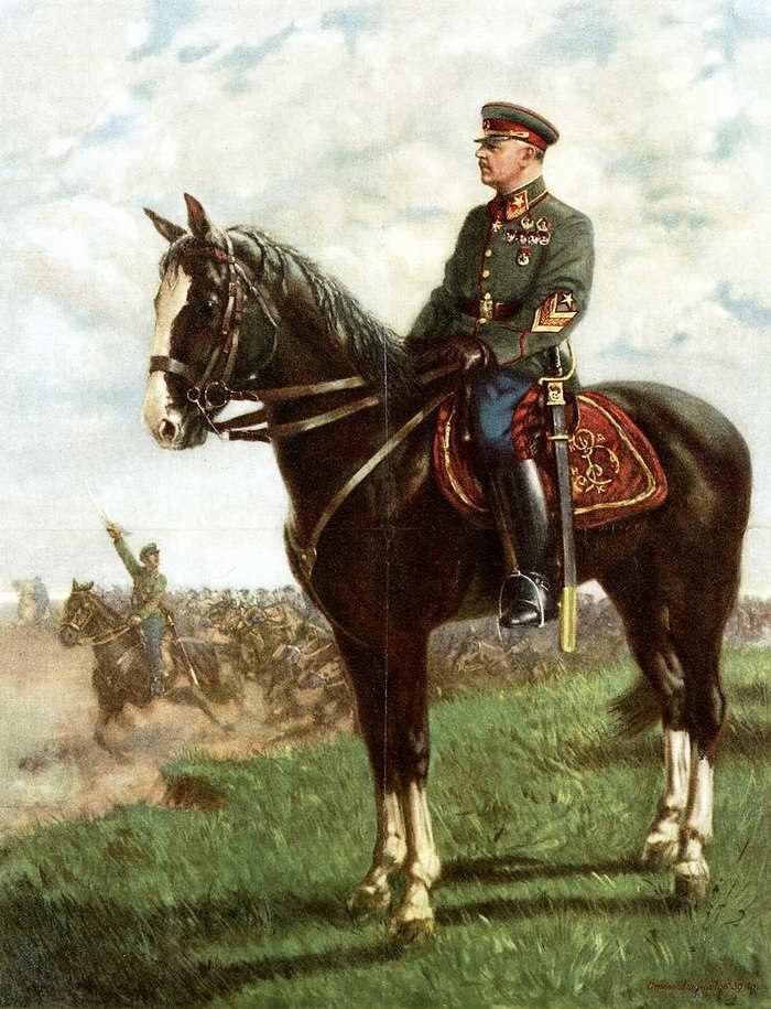 Красная Армия 20-30х годов в живописи