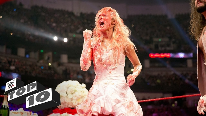 [WWE QTV]☆[Top 10]Wildest wedding moments]