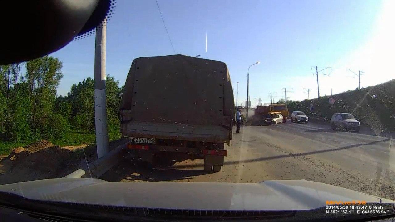 Авария в Нижнем Новгороде 30 05 2014