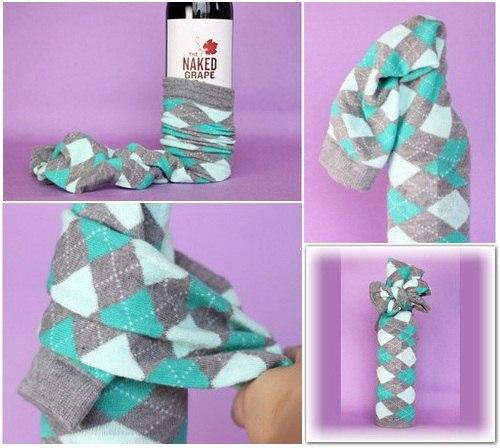 Как оригинально подарить носки