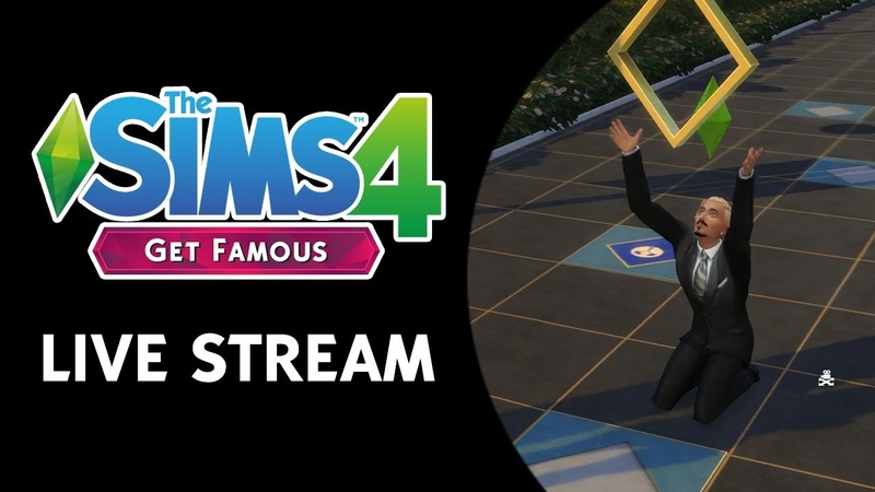 The Sims 4 Get Famous: Fame Reputation Stream (November 6th, 2018)