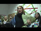 Ксению Собчак в Курске не пустили в будущий магазин «Пятерочка» на Красной площади