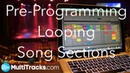 Pre Programming Looping Song Sections in Ableton Live Arrangement View
