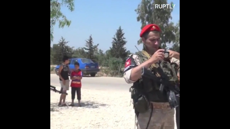 Шоссе Homs-Hama после 7 лет блокады вновь открыто.