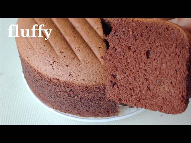 Soft and light chocolate sponge cake Cooking A Dream