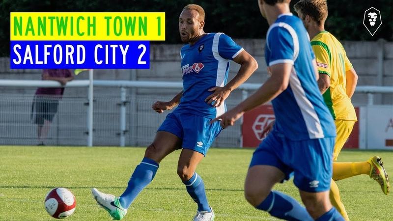 PRE-SEASON | Nantwich Town 1-2 Salford City