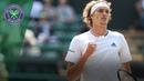 Alexander Zverev books third round berth after match delayed overnight Wimbledon 2018