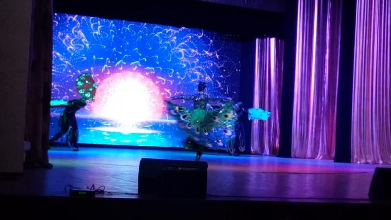 Китайский танец Павлин, приносящий удачу. Алия Нургалеева, Регина Баракова, Зарина Султангильдина