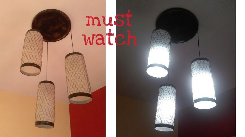 How to make lamp at home easy ways