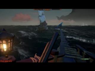 [МИР ММО ИГР] ПОБЕДИЛИ МЕГАЛОДОНА - Sea of Thieves призвали БОССА