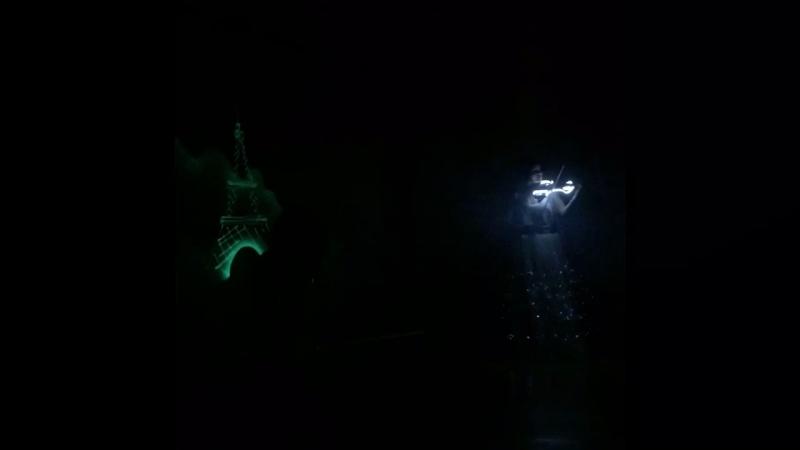 Световые картины Гудвин и световое скрипичное шоу