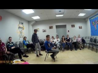 Марина Богатова в гостях у студии Ералаш Рязань