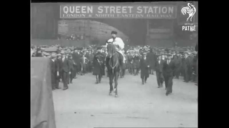 Кубанские казаки Василия Гамалия в Глазго. 1925 г.