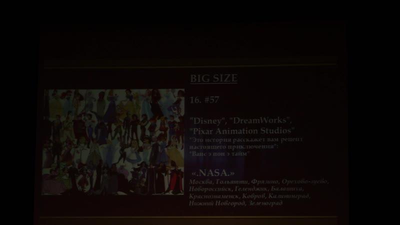 3.16.Disney, DreamWorks, Pixar Animation Studios: Ванс э пон э тайм — .NASA. — Москва, Тольятти, Фрязино, Орехово-Зуев