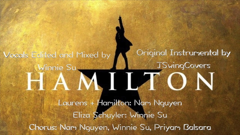Hamilton - Satisfied Karaoke (with backing vocals) Sing with me You Sing Angelica | Winnie Su