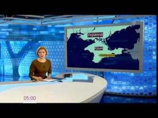 Украина Захват аэропорта в Севастополе 28 02 2014