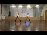 Аня Queen Гостева, Олеся Сурина, Booty Dance DANCE - FITNESS STUDIO