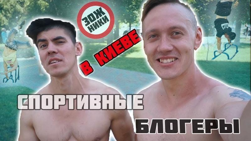 Тренировка по воркауту в Киеве ЗОЖники в столице