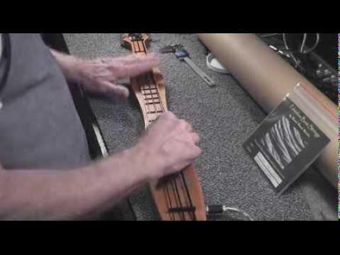 Beede bass dulcimer Acu-fretless intro crash course