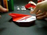 Дед мороз (оригами)