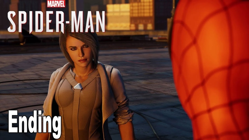 Marvel's Spider Man Silver Lining DLC Ending After Credits Scene HD 1080P